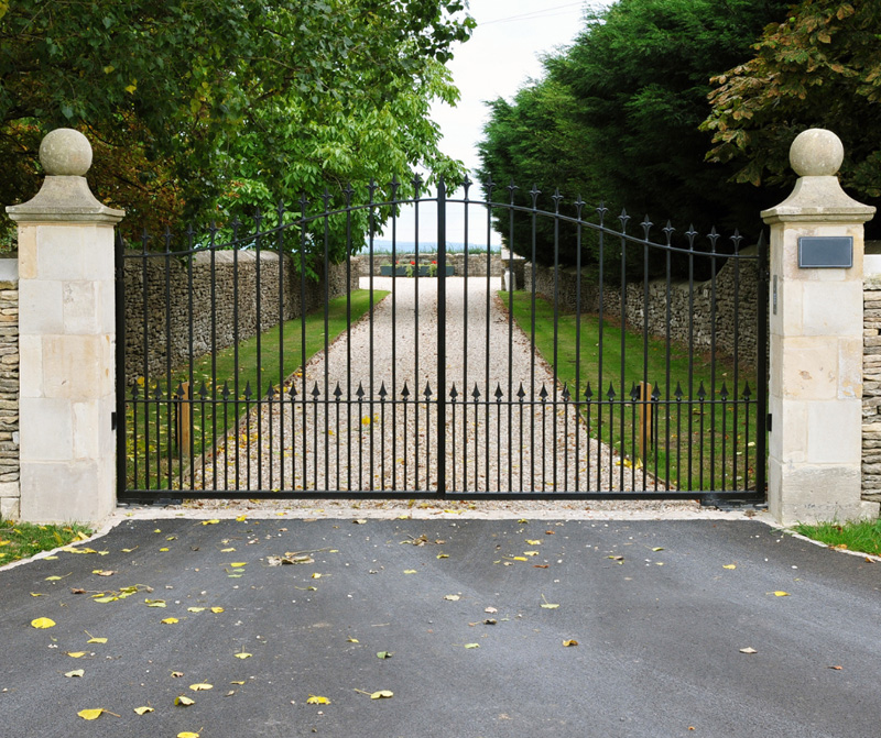 Home security gate